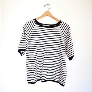 Zara Striped Sweater Tee